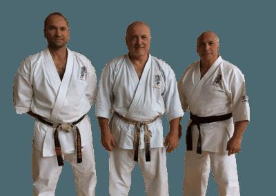 Senseiene Fulvio Pascut, Paolo Bolaffio og Michele Soldano