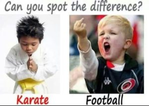 footballKarate