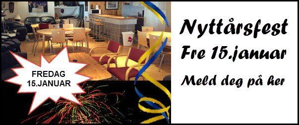 Nyttårsfest for alle medlemmer fredag 15.januar