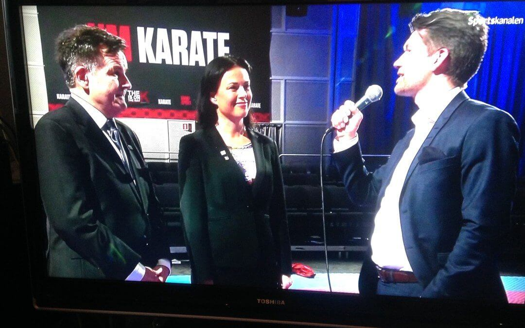 NM i karate på TV 2 Sumo