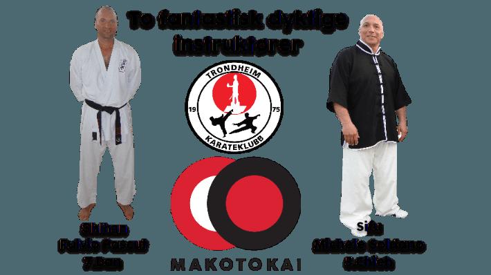 Åpen treningssamling med Shihan Fulvio Pascut og Sifu Michele Soldano 18-20.jan 2019