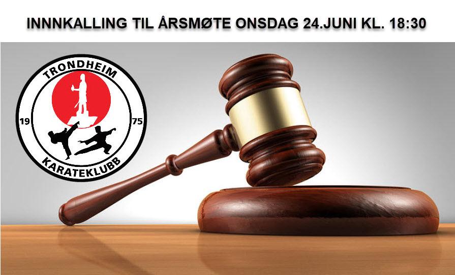 Innkalling til årsmøte i Trondheim Karateklubb