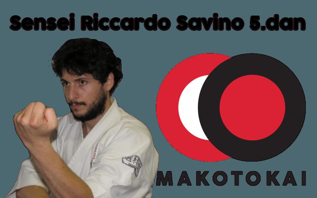 Sensei Riccardo Savino kommer til Trondheim ons/tor 11-12.oktober