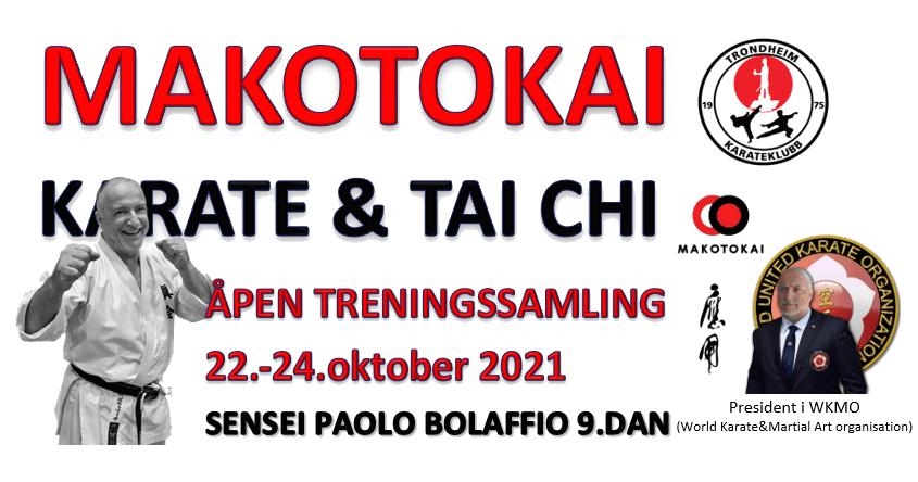 Samling med Paolo Bolaffio 9.dan 22-24.oktober 2021
