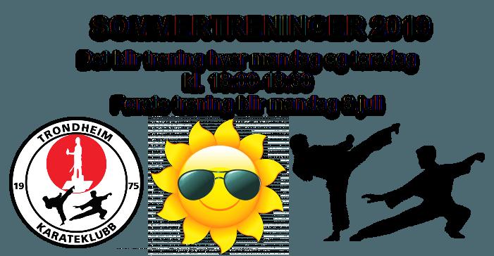 Sommertreninger 2019